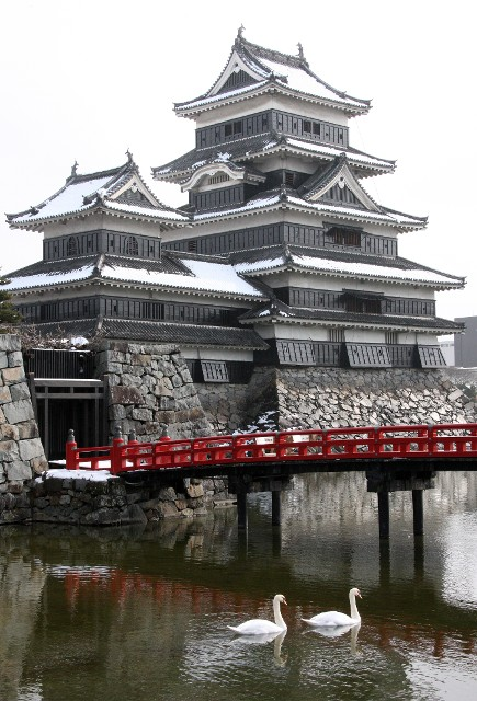 Matsumoto Castle Is One Of Two Original Castles Left In Japan Currently With The Other Being Famous Himeji South